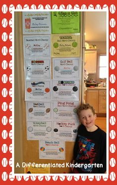 A Differentiated Kindergarten: Building Enthusiasm for Sight Word Study