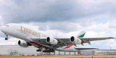 """Emirates, the national carrier of UAE"" Emirates Airbus Jet Aircraft Airbus A380 Emirates, Emirates Airline, Aircraft Images, Aircraft Pictures, Air Travel, Travel And Tourism, 747 Airplane, Dubai, Bmw X6"