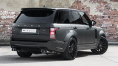 Project Kahn #RangeRover Autobiography Pace Car #cars #suv #luxury #style #design #customcars More from Project Kahn >> http://www.motoringexposure.com/aftermarket-tuned/project-kahn/