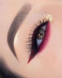 Makeup Eye Looks, Smoky Eye Makeup, Eye Makeup Art, Colorful Eye Makeup, Glam Makeup, Party Makeup, Eyeshadow Makeup, Smokey Eye, Makeup Drawing