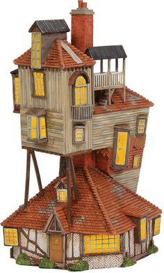 online shopping for Department 56 Harry Potter Village The Burrow Lighted Buildings, from top store. See new offer for Department 56 Harry Potter Village The Burrow Lighted Buildings,