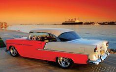 1955 Chevy Bel Air Hardtop Wheels