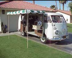 VW camper bus awning
