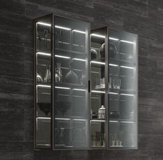 Home Goods Decor, Home Decor Furniture, Contemporary Interior Design, Best Interior Design, Cabinet Decor, Cabinet Design, Display Design, Store Design, Glass Display Unit