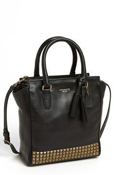 COACH 'Legacy Stud Tanner - Mini' Leather Crossbody Bag   Nordstrom