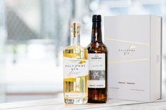 Progress Packaging Salcombe Gin Spirits Bottle Retail Luxury Foil Quality Bespoke Minimal Alcohol Gift Presentation 000