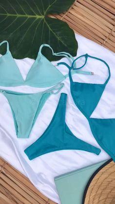 Tube Top Bikini, Triangle Bikini, Bikini Tops, Bikini Set, Camo Bikini, Black Bikini, Cute Swimsuits, Cute Bikinis, Athletic Hairstyles