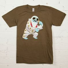 Yeti Elvis Tee Men's Army now featured on Fab.