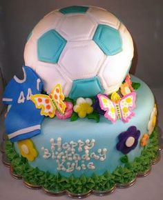 Sports Soccer Ball Cake Personalized Greenville Sc Mysweetfavorites