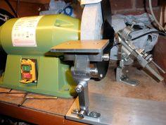HSS lathe tool sharpening jig - Google Search