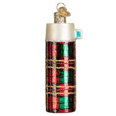 Retro Thermos Ornament for Christmas Tree