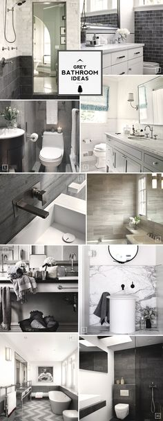 Grey Bathroom Ideas and Design Styles