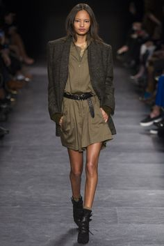 Isabel Marant Fall - Winter 2014/2015 Paris Fashion Week