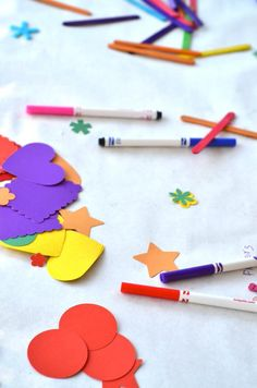 The best part of throwing a Crayon Party are how simple the games and activities are to prepare for (which can sometime be painful)! I purchased a HUGE roll of…