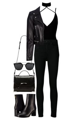 """Untitled #702"" by weyheytati ❤ liked on Polyvore featuring Mackage, Boohoo, Paige Denim, Paul Smith and Yves Saint Laurent"