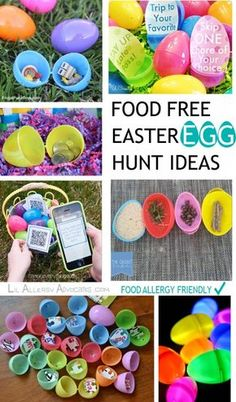 Easter party favors easter party church events and goodie bags food free easter egg hunt ideas food allergy friendly ideas for non food treats to negle Choice Image