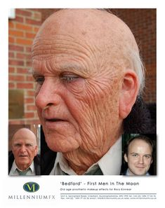 SFX old age makeup