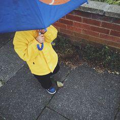 A rainy school run