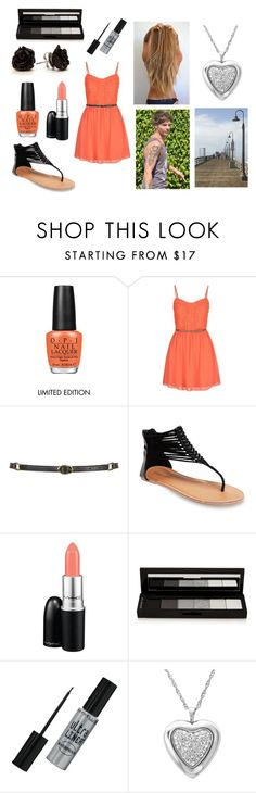 """""""Boardwalk with Louis"""" by sarahorantomlinson ❤ liked on Polyvore featuring OPI, maurices, Topshop, Wet Seal, MAC Cosmetics, shu uemura, Maybelline and Amanda Rose Collection"""