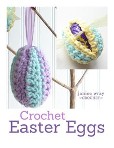 Looking for your next project? You're going to love Easter Eggs to Crochet by designer Janice.