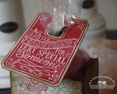 10 minutes a day: Stampin Up Chalk Talk kadootje