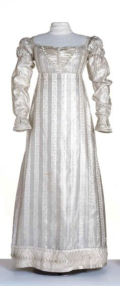Dress ca. 1822-23 From the Centraal Museum
