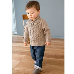 Discover recipes, home ideas, style inspiration and other ideas to try. Baby Boy Knitting Patterns, Baby Cardigan Knitting Pattern, Knitting For Kids, Baby Knitting Patterns, Baby Patterns, Knit Baby Sweaters, Knitted Baby Clothes, Baby Pullover, Baby Coat