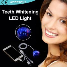 2016 Hot selling blue led light teeth whitening 16 led