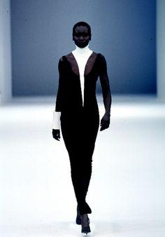 Alek Wek, Thierry Mugler S/S 1999