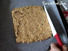 fruit oat bars (without sugar) Muesli, Granola, Bar Workout, Marinara Sauce, Homemade Beauty Products, Diet And Nutrition, Banana Bread, Food And Drink, Health Fitness