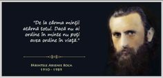 Pr.Arsenie Boca Human Voice, Soul Music, True Words, Christianity, Philosophy, Best Quotes, Pray, Spirituality, Wisdom