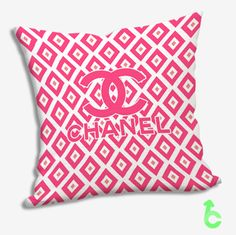 #Chanel #Cute #Pink #Squares #Pillow #Cases #cover #pillowcase