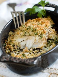 Parmesan Baked Fish with Dijon Mustard