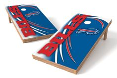 Buffalo Bills Cornhole Board Set- Spiral http://prolinetailgating.com