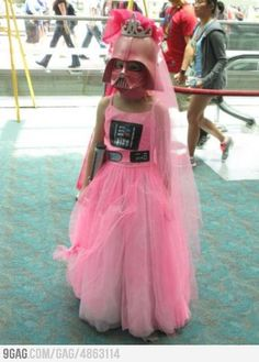 The Darth Vadercause you should always be able to be a princess and Vader.