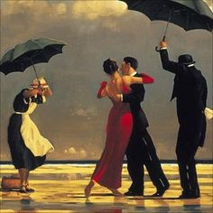 Vettriano's the Singing Butler has attracted record numbers to the Aberdeen Art Gallery