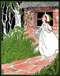 Vintage Fairy Tale illustration