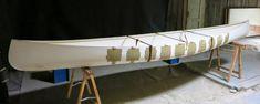 Gorewood Solo Canoe - a present-day interpretation of the birchbark canoe Canoe Plans, Boat Plans, Aluminum Jon Boats, Kayak Storage Rack, Utility Boat, Cabin Cruiser, Paddle Boat, Canoe And Kayak, Birch Bark