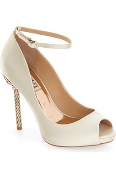 Badgley Mischka 'Diego' Ankle Strap Pump (Women) available at #Nordstrom