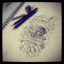 Resultado De Imagem Para Diamante Rosa Tattoo Tatuajes Pinterest