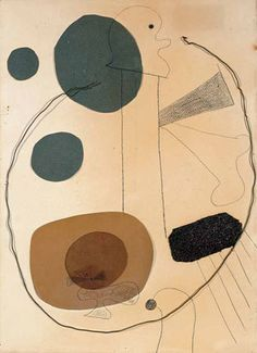 Joan Miró. Collage (Composition with Wire). Montroig, late July–early October 1929