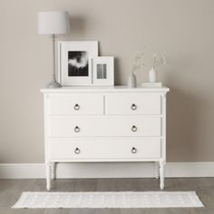 Florence Chest Of Drawers - White from The White Company