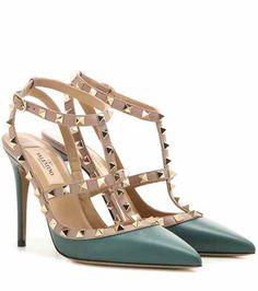 Rockstud leather pumps | Valentino
