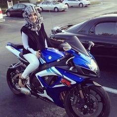 Czy muzulmanka może być motocyklistka?