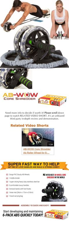 Abdominal Exercisers 15274: Ab Roller Slide Machine Pro Wheel Exercise Gym Training Abdominal Workout Fitnes -> BUY IT NOW ONLY: $66.02 on eBay!