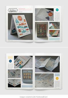 yorokobu magazine by luis b hernandez layout for print portfolio