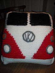 Crochet | VW Van Pillow Free Raverly Pattern Download