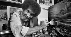 """Happy little trees forever: Twenty years after his death, the soothing host of """"The Joy of Painting"""" is thriving on streaming video and social media."""