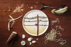 """""""Food art"""" : des dessins d'oiseaux dans l'assiette   Glamour"""