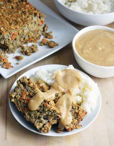 Christmas Chickpea-Lentil Loaf, Vegan & Gluten-Free - The Colorful Kitchen